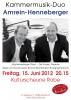 15.06.2012, Jürg Henneberger & Dirk Amrein
